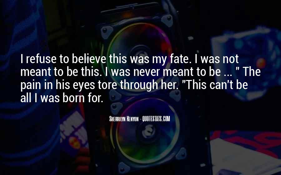 Pain In His Eyes Quotes #709251