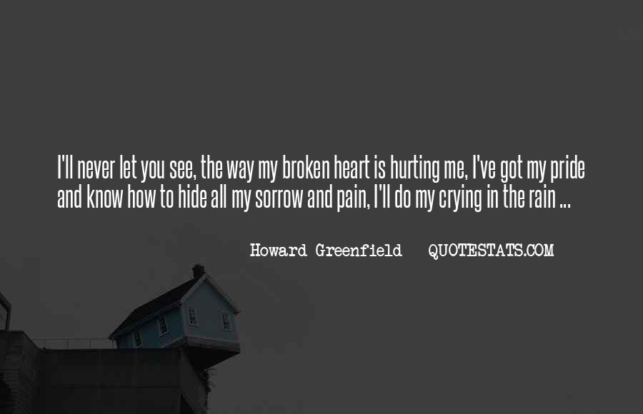 Pain Is All I Know Quotes #1392778