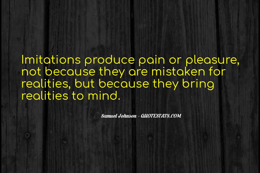 Pain Is In Your Mind Quotes #292063