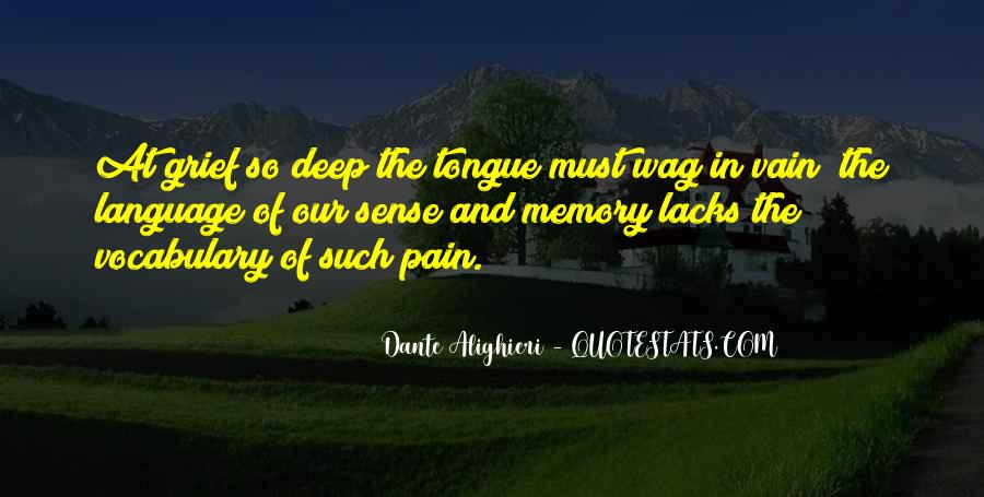 Pain So Deep Quotes #142879