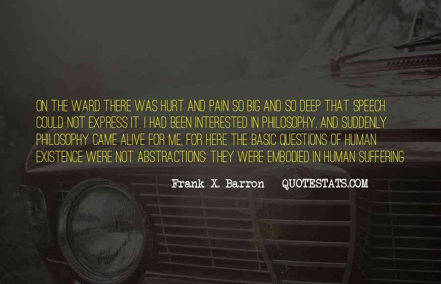 Pain So Deep Quotes #407123