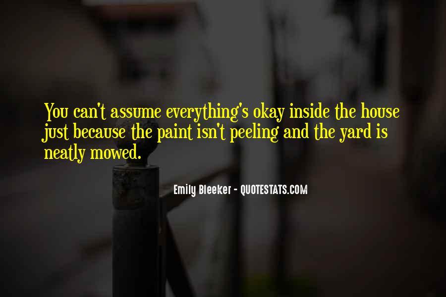 Paint Peeling Quotes #1736632