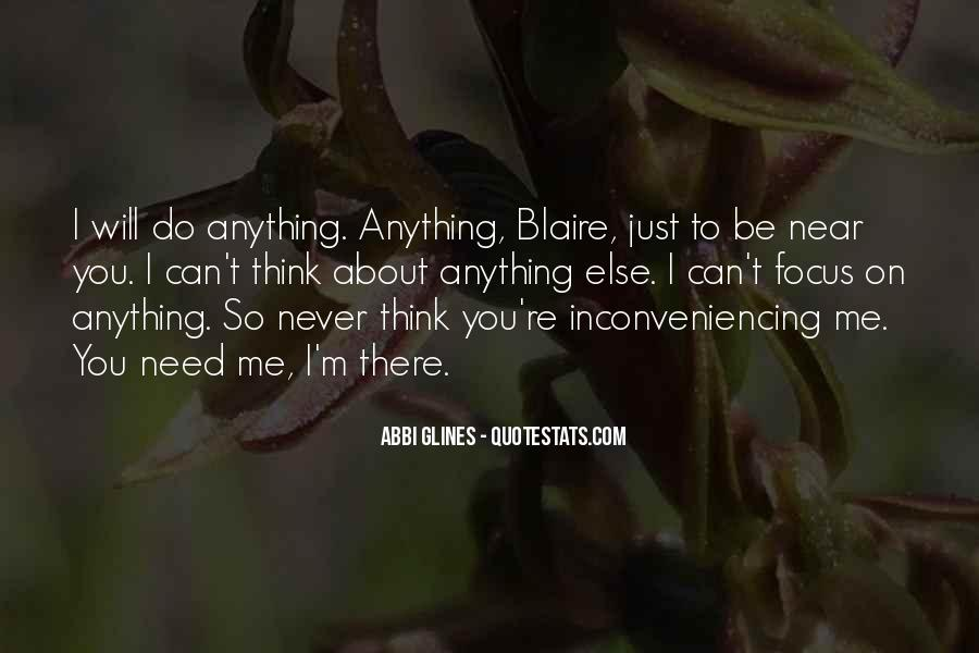 Quotes About Blaire #1652322