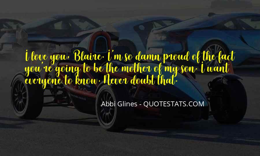 Quotes About Blaire #585147
