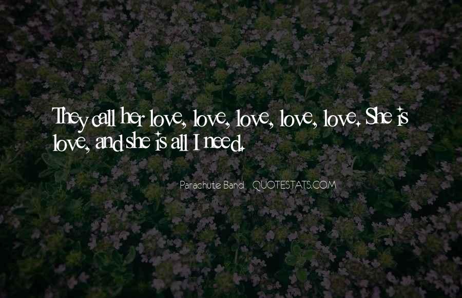Parachute Band Song Quotes #513367