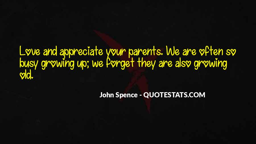 Parents Growing Old Quotes #1550954