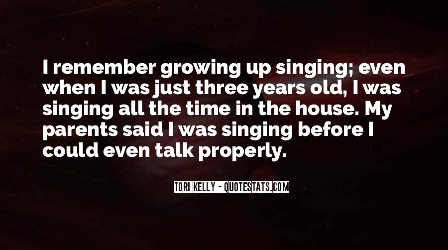 Parents Growing Old Quotes #1790999