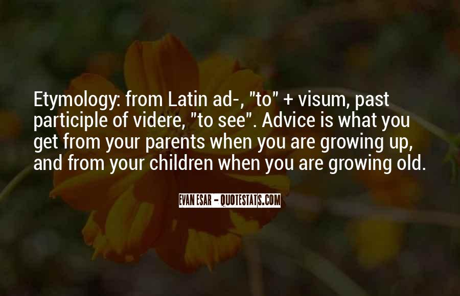 Parents Growing Old Quotes #320205