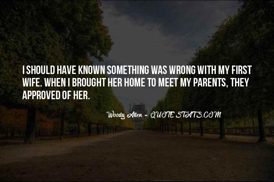 Parents Meet Quotes #1109760