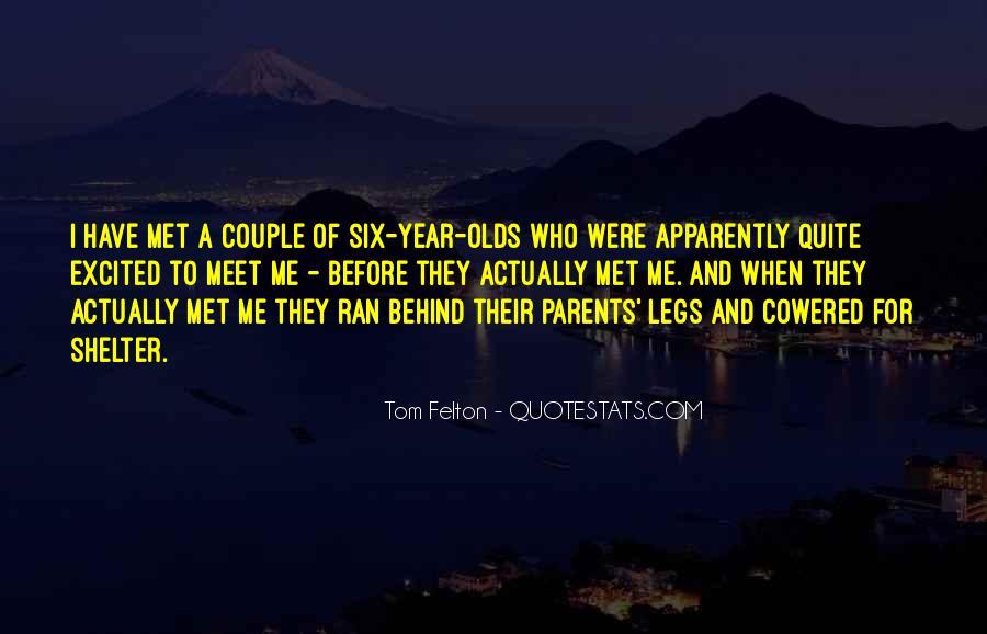 Parents Meet Quotes #1161211