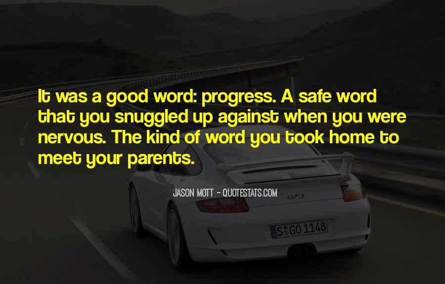 Parents Meet Quotes #1532873