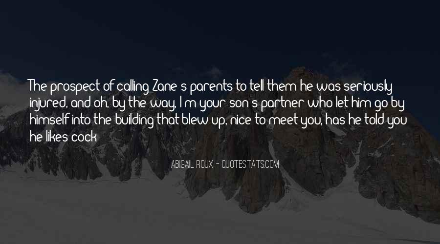 Parents Meet Quotes #1593316