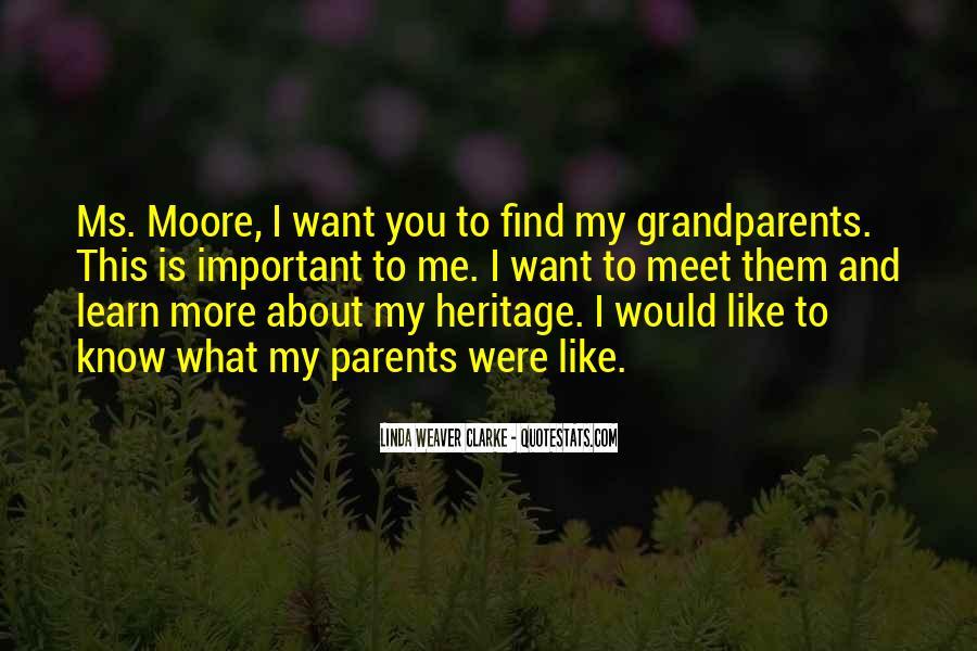 Parents Meet Quotes #170829