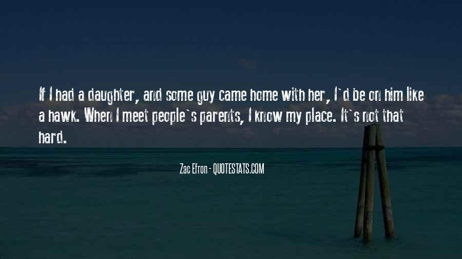 Parents Meet Quotes #1738684
