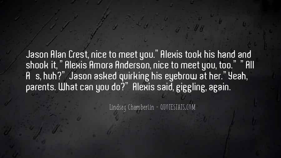 Parents Meet Quotes #658112