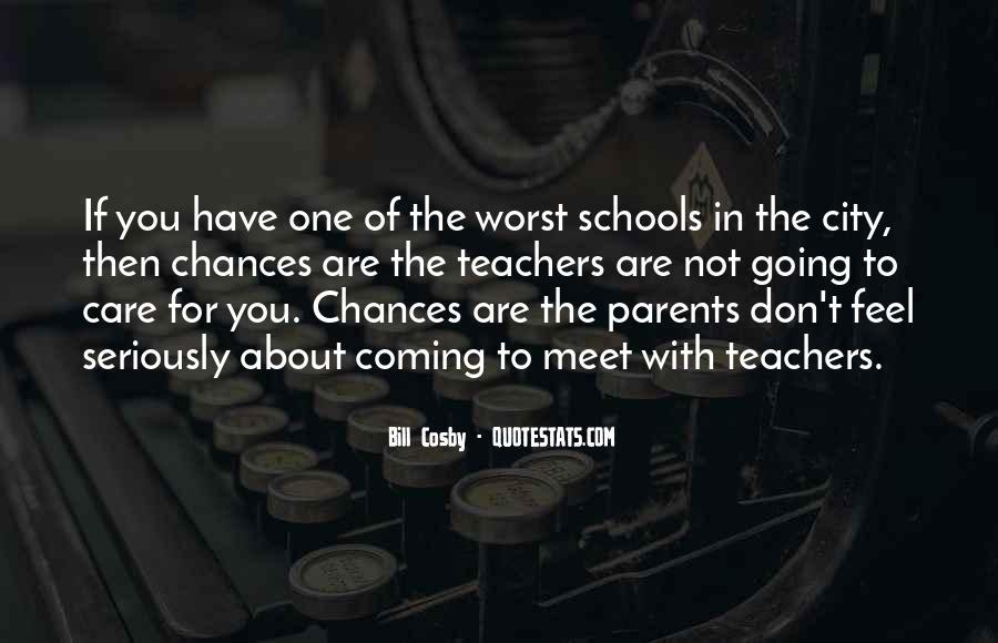 Parents Meet Quotes #724968