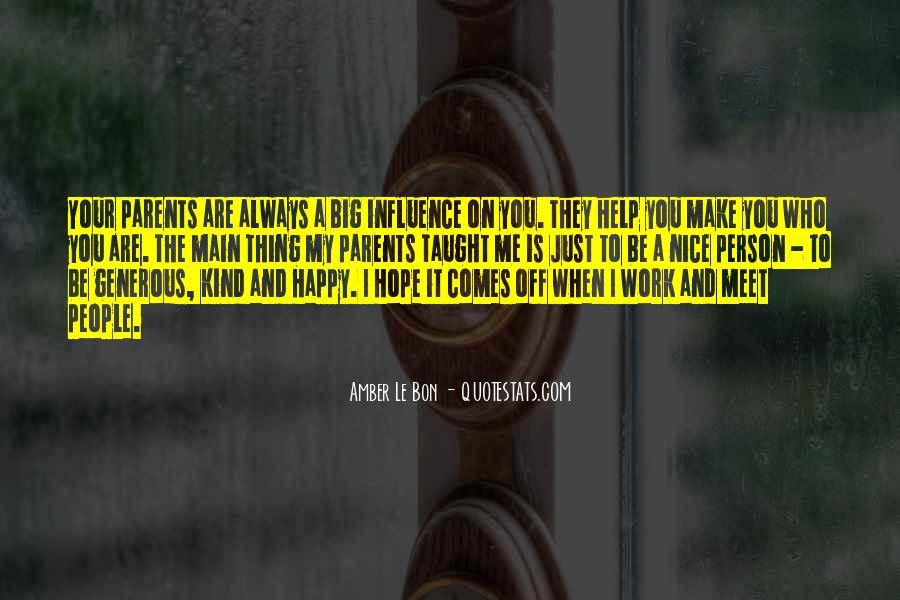 Parents Meet Quotes #911371