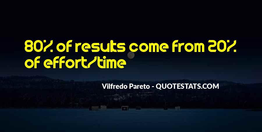 Pareto Quotes #1015657