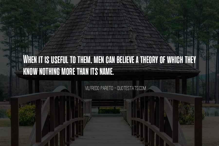 Pareto Quotes #520558