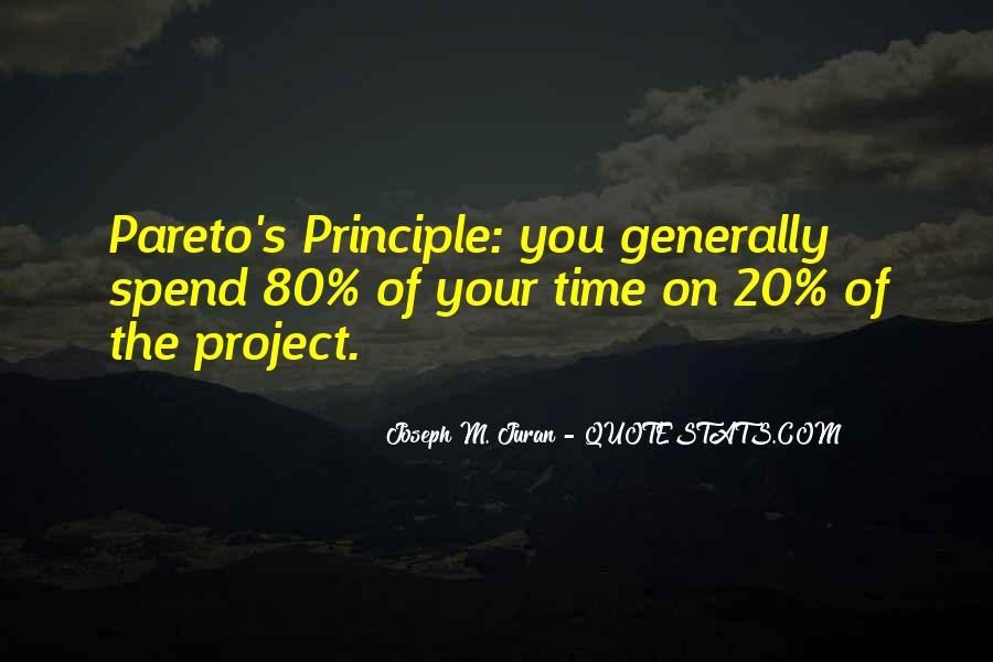 Pareto Quotes #885063