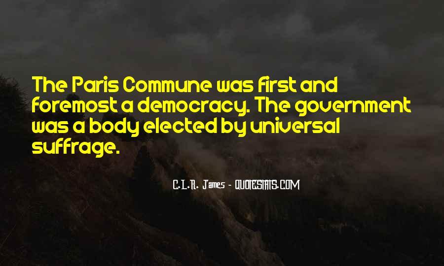Paris Commune Quotes #607168