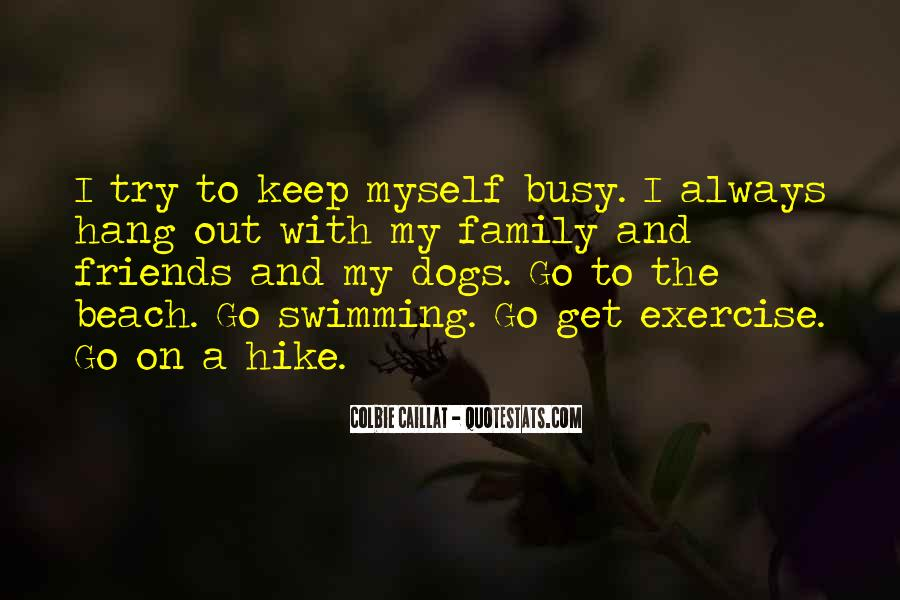 Quotes About Swimming Dogs #1679915