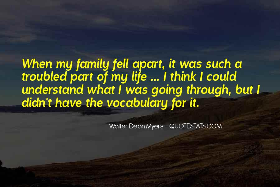 Part Of Family Quotes #204705