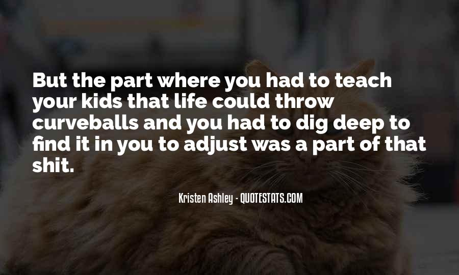 Part Of Your Life Quotes #163400
