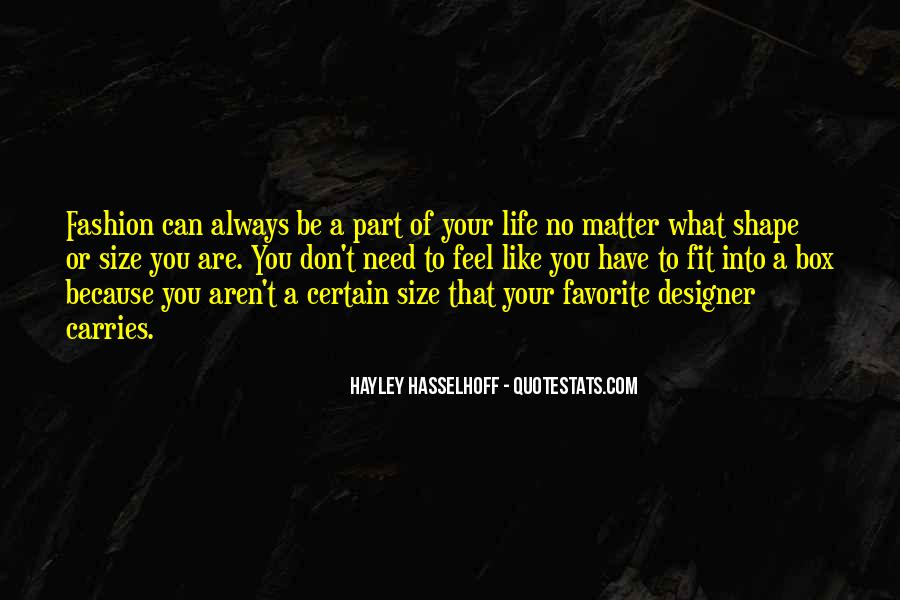 Part Of Your Life Quotes #211161