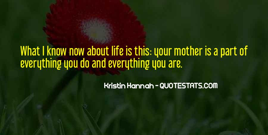 Part Of Your Life Quotes #276229