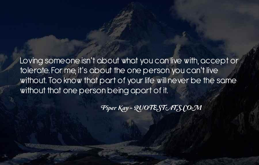 Part Of Your Life Quotes #304472