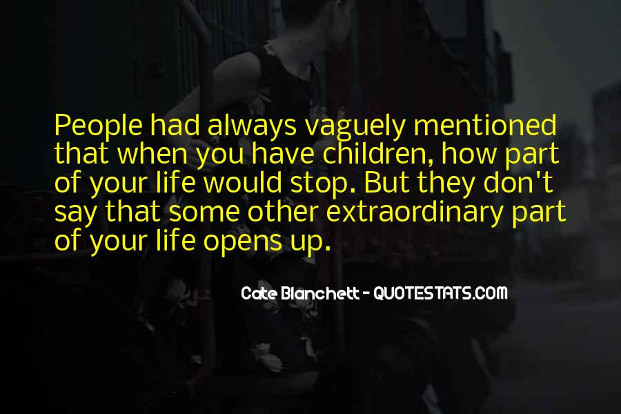 Part Of Your Life Quotes #319499