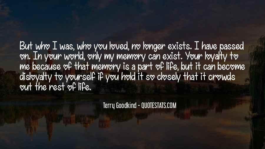 Part Of Your Life Quotes #60400