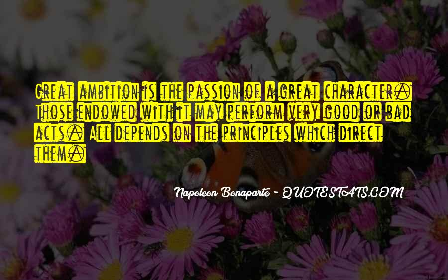 Passion To Perform Quotes #608577