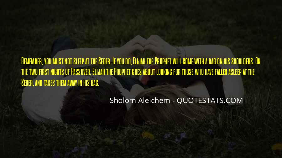 Passover Seder Quotes #1734116