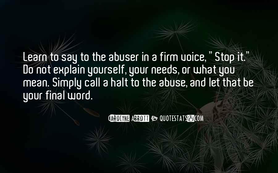 Past Abusive Relationship Quotes #1305732