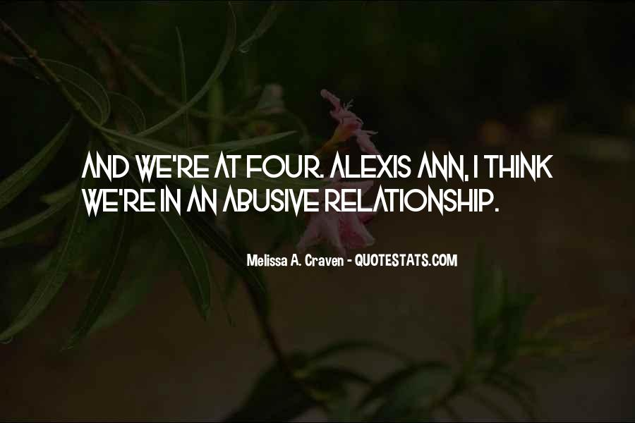 Past Abusive Relationship Quotes #1435466