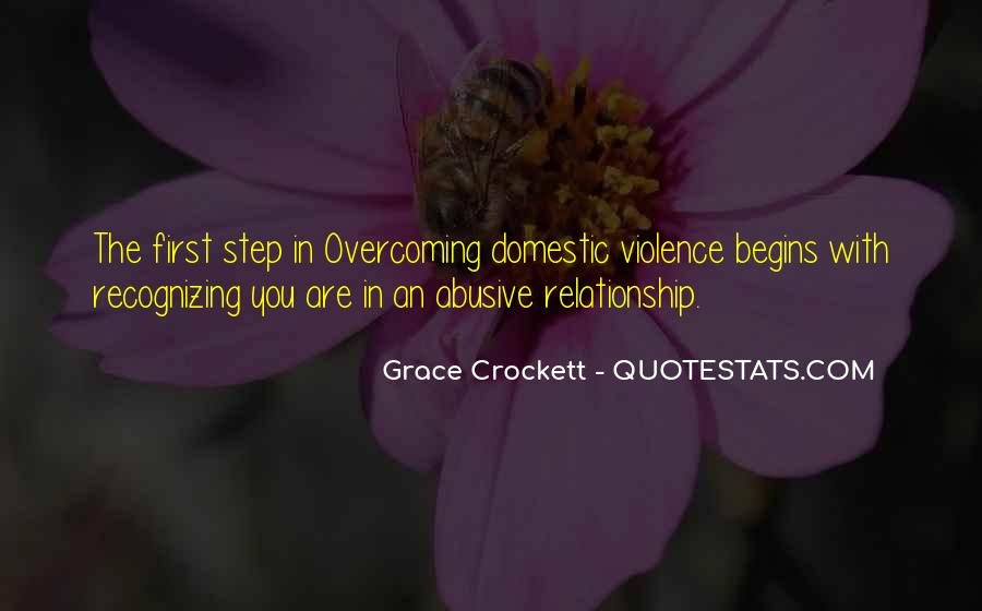 Past Abusive Relationship Quotes #577757
