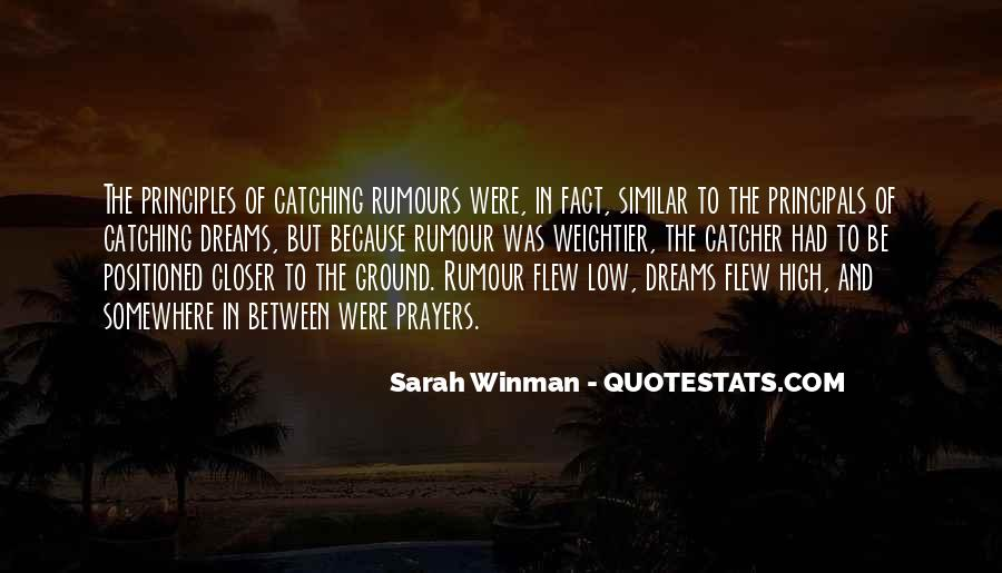 Past Catching Up Quotes #32015