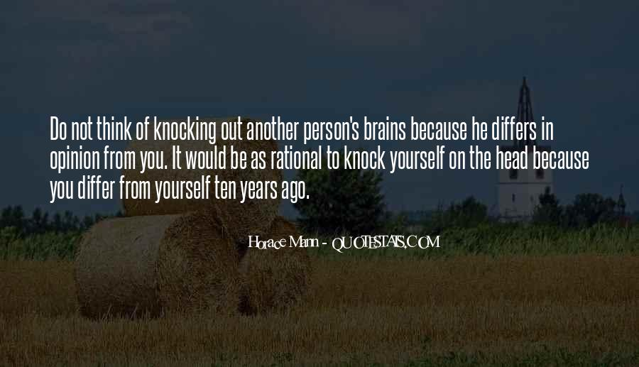 Past Comes Knocking Quotes #37170