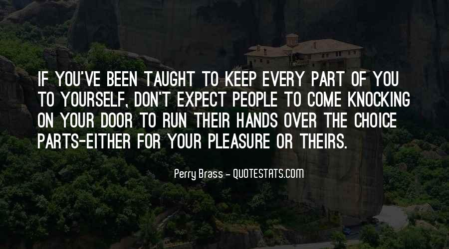 Past Comes Knocking Quotes #68088