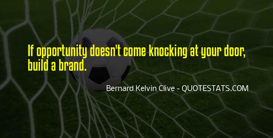Past Comes Knocking Quotes #71967