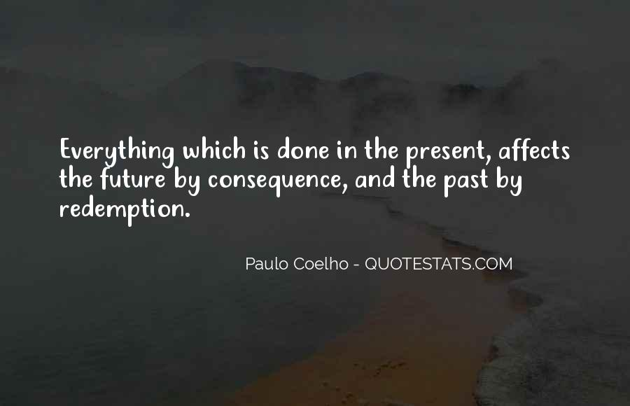 Past Is Done Quotes #151704
