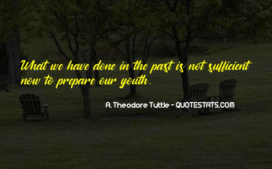 Past Is Done Quotes #152921