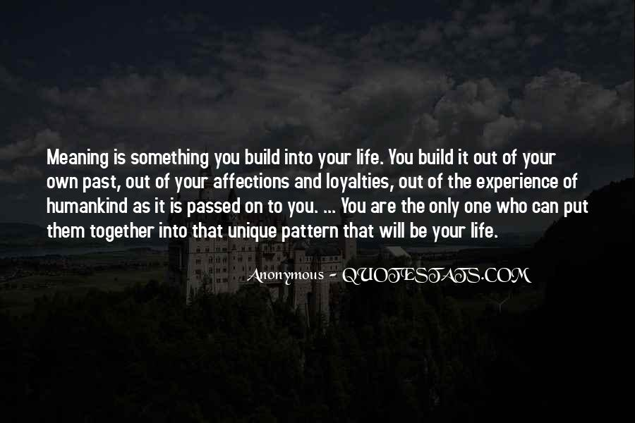 Past Life Experience Quotes #651310