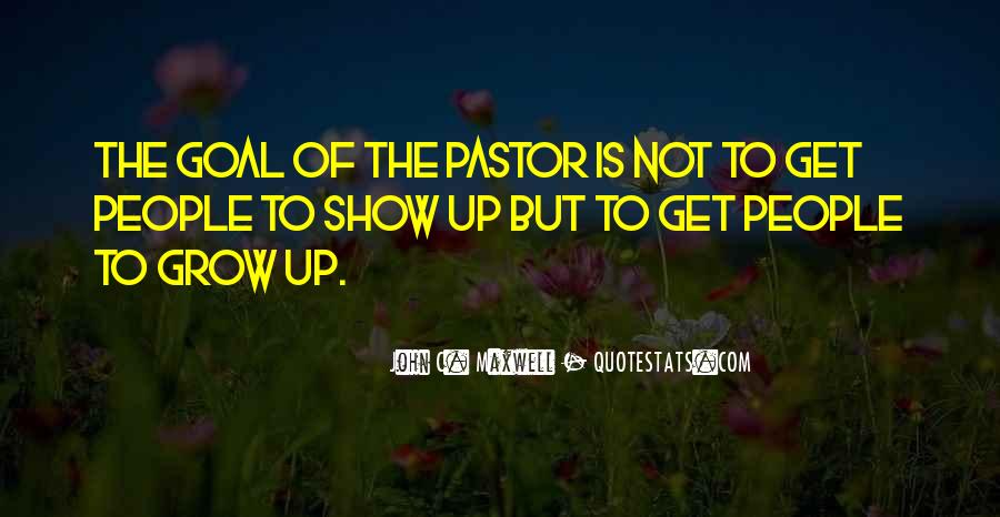 Pastor Quotes #140253
