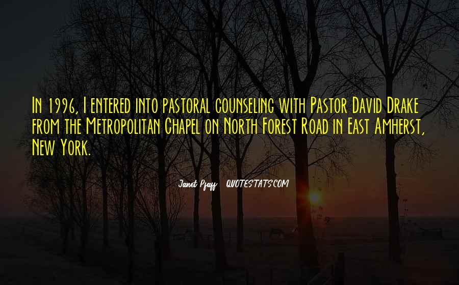 Pastor Quotes #142289