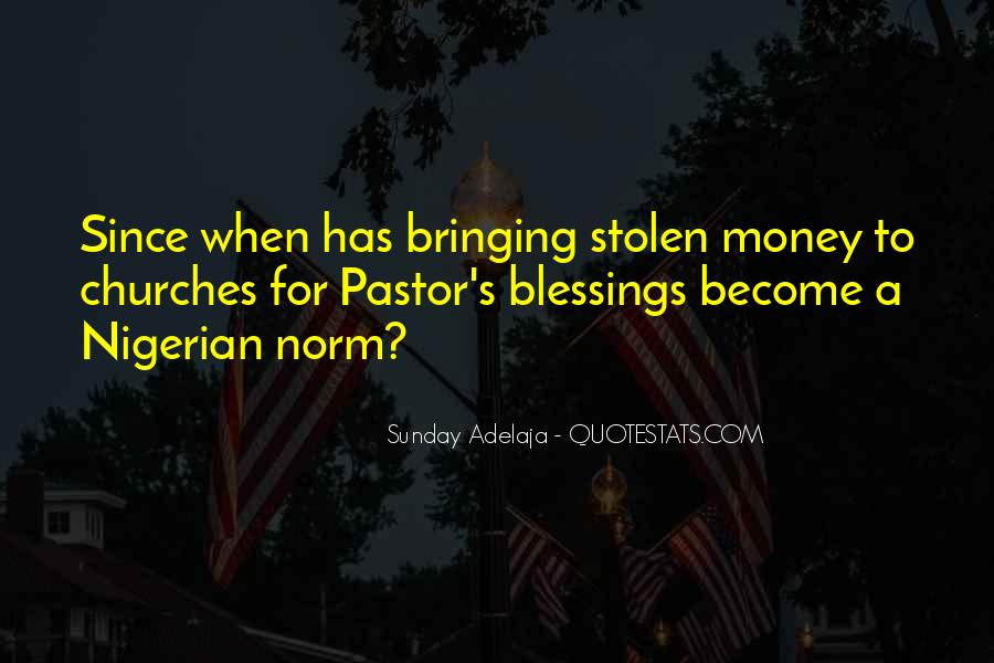 Pastor Quotes #142291