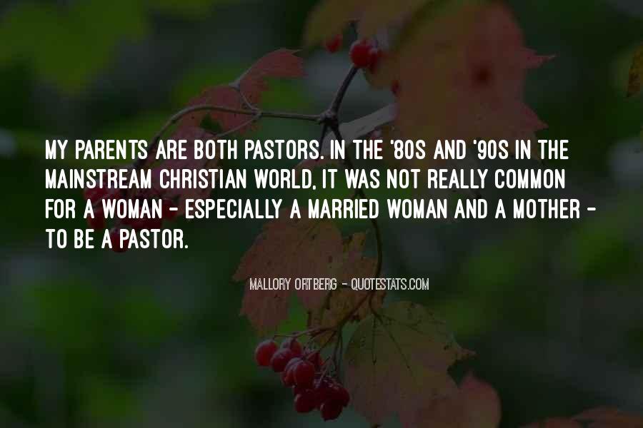 Pastor Quotes #183724