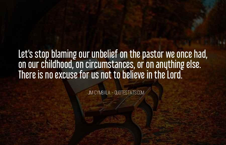 Pastor Quotes #189382